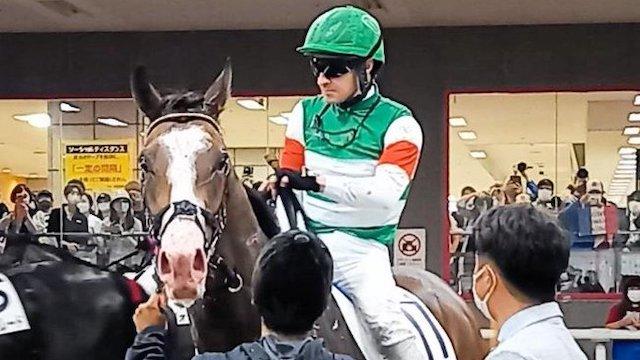 新馬勝ちアライバルにルメール「ディアドラみたい」